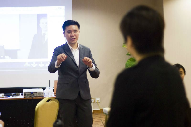 benjamin loh speaking coach